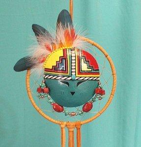 Apache Sunface Kachina Shield