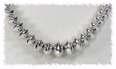 Sterling Silver Navajo Seed Bead