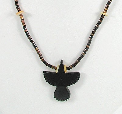 Raven Fetish Necklace