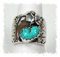Navajo Bear Claw Ring