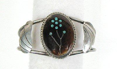Vintage Native American Tortoise Shell Bracelet