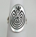 Hopi Man in the Maze Ring