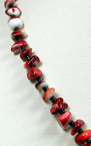 Santo Domingo Red Spiny Oyster Necklace