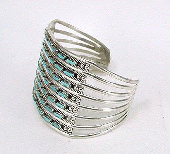 8-Wire Zuni Bracelet