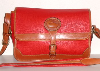 Authentic Dooney & Bourke All Weather Leather Surrey Made in USA