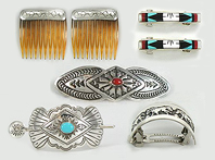 Native American Hair Accessories