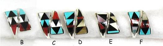 Zuni Inlay Rings