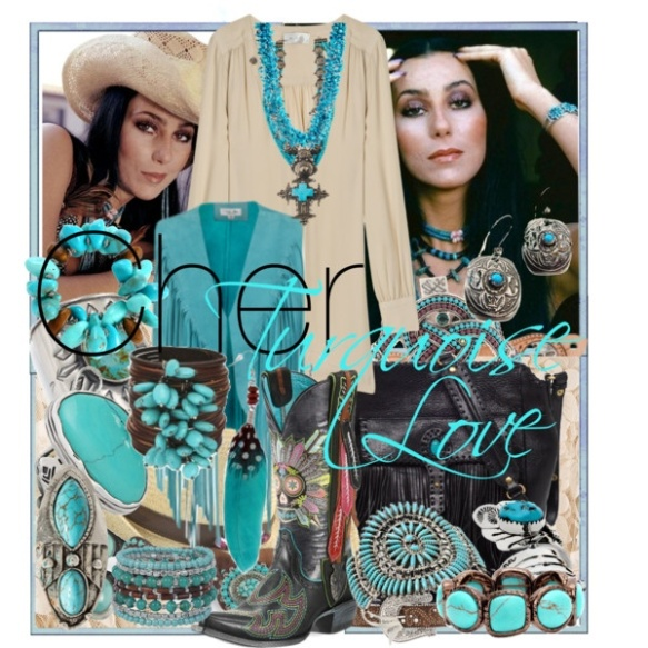 cher turquoise