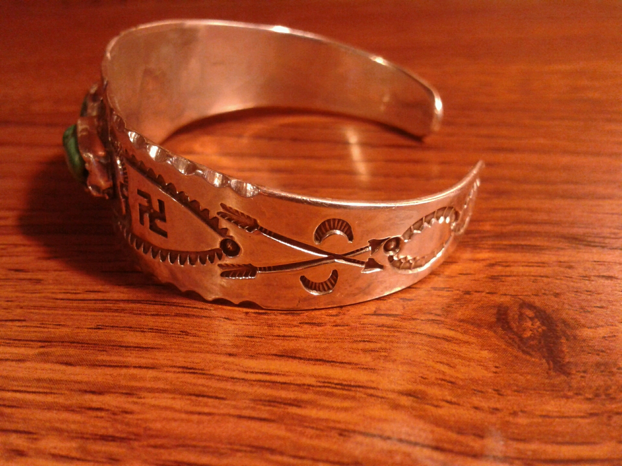 Whirling Log Native American Jewelry Tips