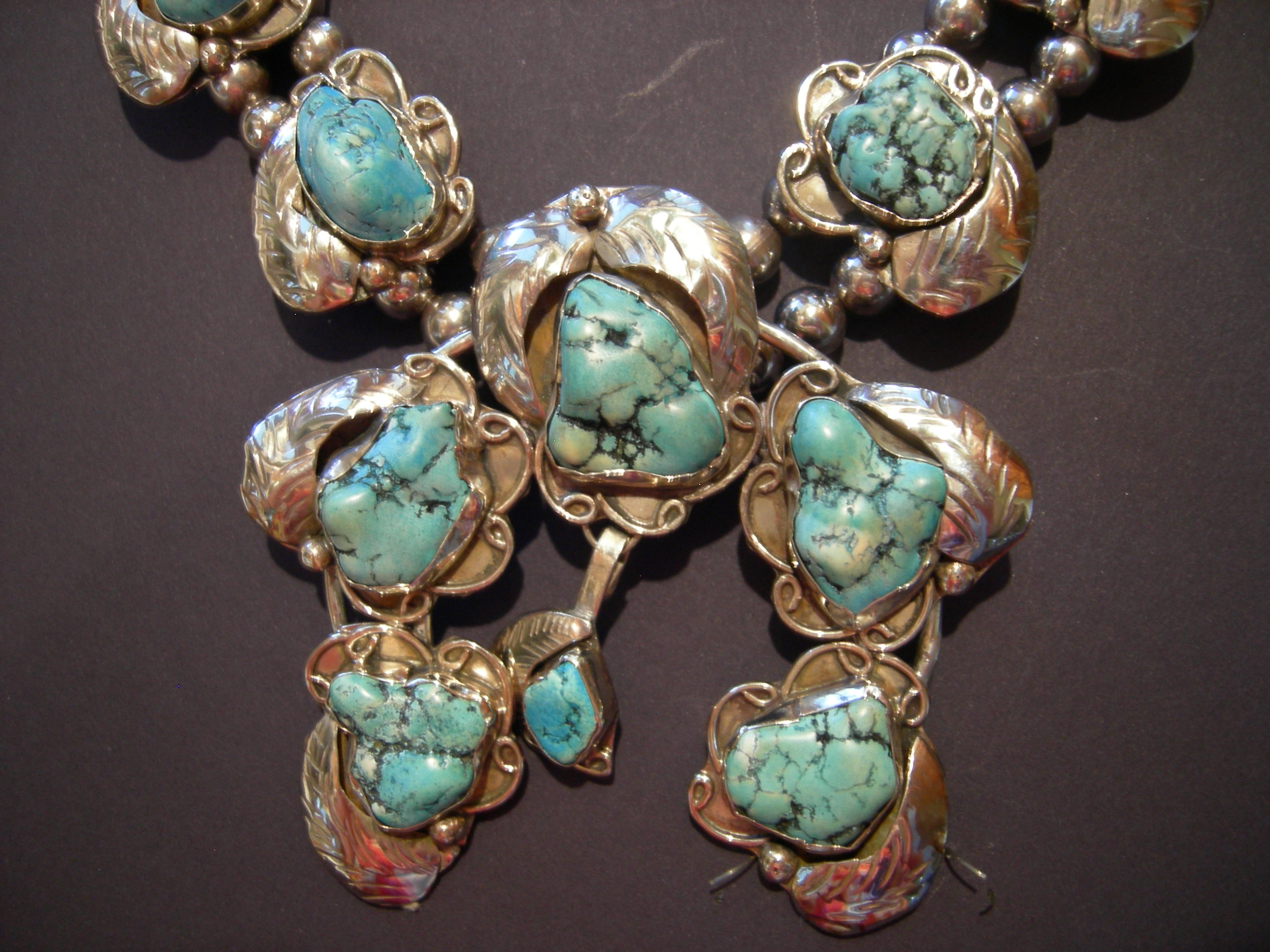Is This A Rare Style Of Squash Blossom Necklace Is It