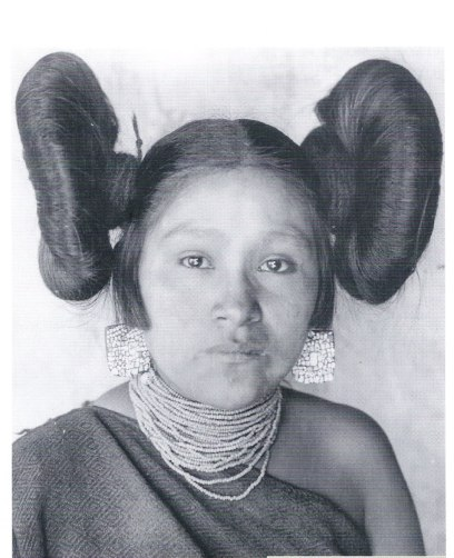 butterfly hair Hopi