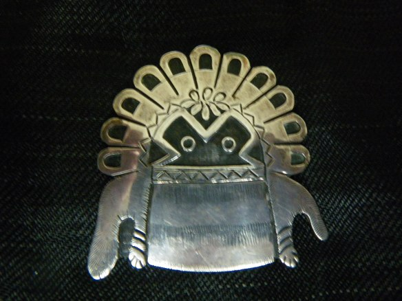 hopi kachina pin
