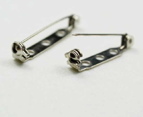 1000pcs-25mm-High-quality-Brooch-Locking-Bar-Pin-Back-with-Safety-Latch-Clasp-Back-Pins-for