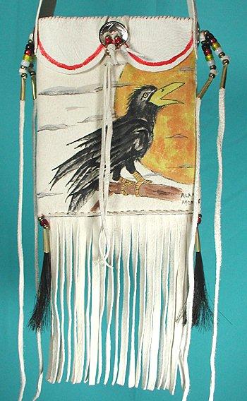 Lakota Kangi Pejuta Medicine Bag