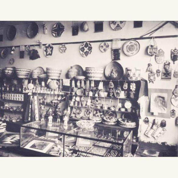 1905 Fred Harvey Gift Shop Alvarado Hotel, Albuquerque NM