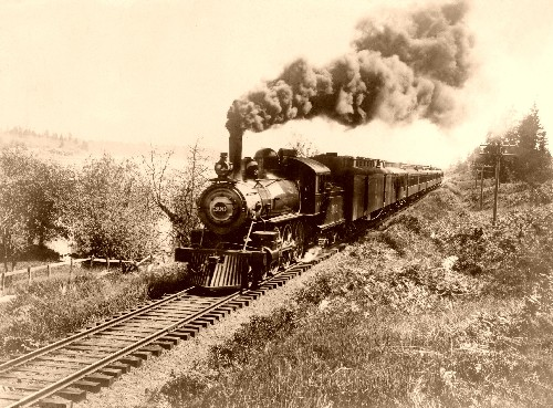 Early Santa Fe Railway