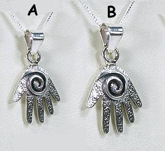 Mystic Hand Pendant