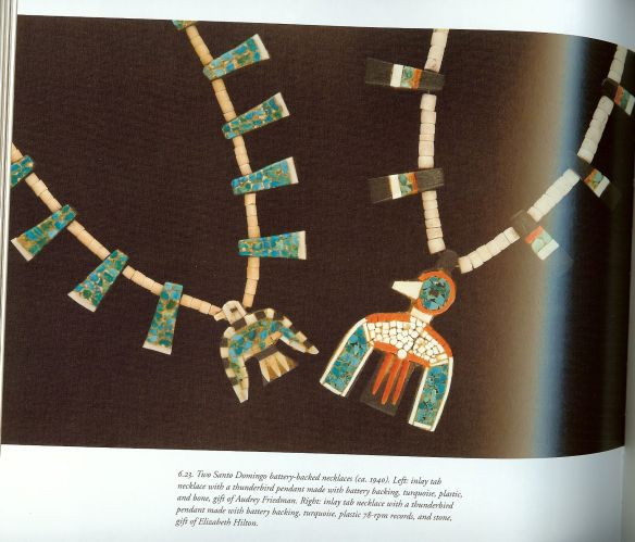 Fine Indian Jewelry of the Southwest; The Millicent Rogers Museum Collection p149. ca 1940