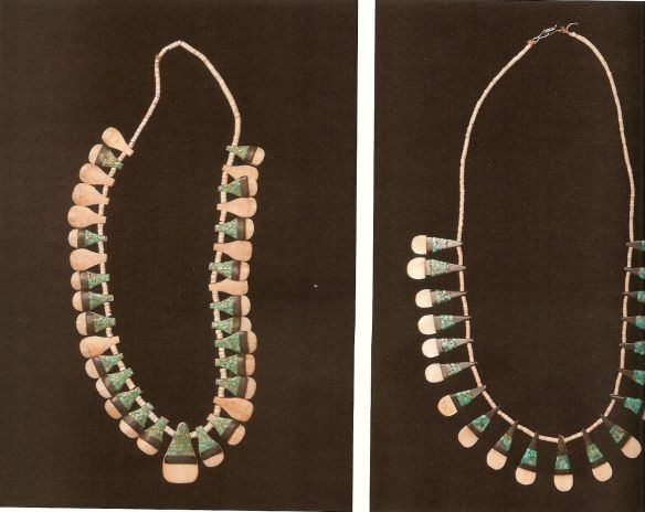 Generations, the Helen Cox Kersting Collection, Santo Domingo Tab Necklaces 1940-1059