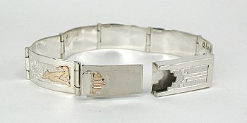 BOX CLASP WITH TAB INSERT