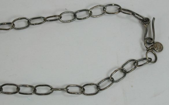 The hand made chain was really nice and did look like some NA made chains I had seen........but wait.........what's that on the end??!!